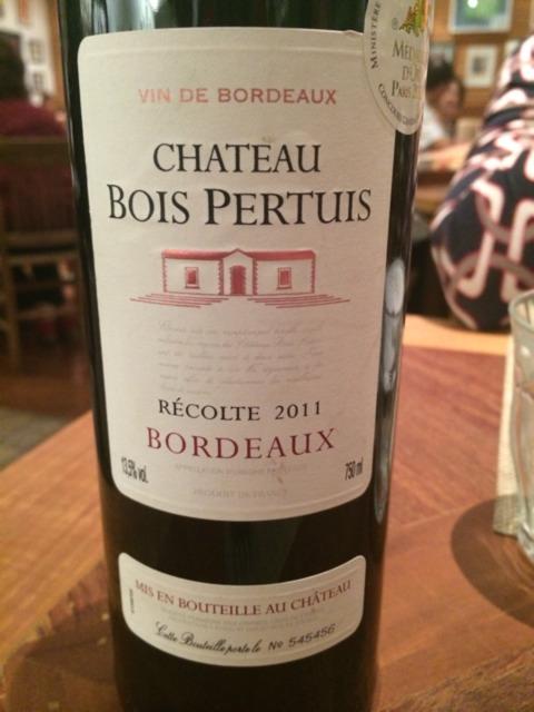 Chateau Bois Pertuis - Bernard Magrez Bordeaux Ch u00e2teau Bois Pertuis 2011 Wine Info