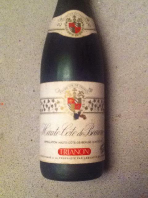 Ch teau trianon haute cote de beaune wine info for Haute cote de beaune