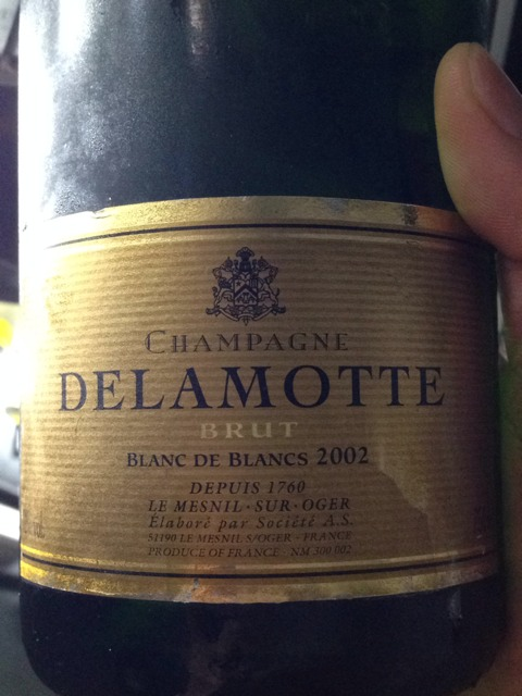 Delamotte champagne blanc de blancs brut mill sim 1999 wine info for Salon blanc de blancs le mesnil sur oger