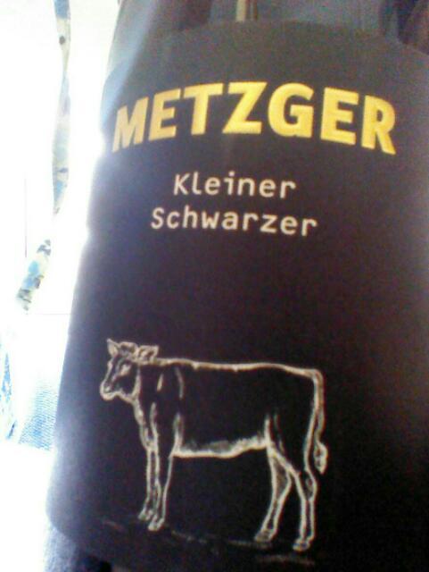 Metzger kleiner schwarzer wine info for Kleiner schwarzer beistelltisch
