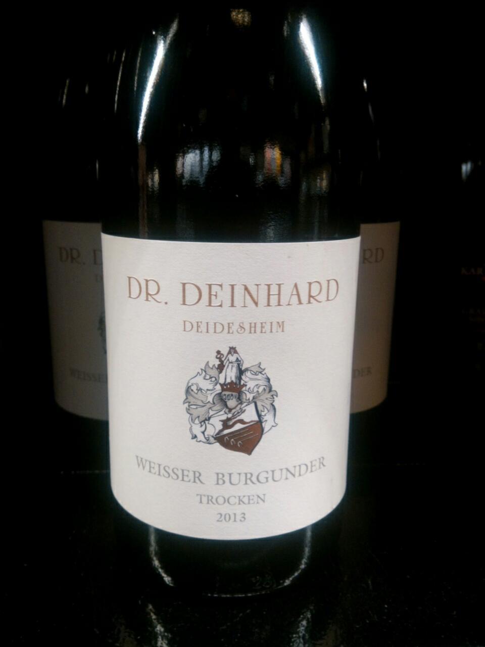 Dr deinhard deidesheim trocken weisser burgunder 2013 for Deinhard wine