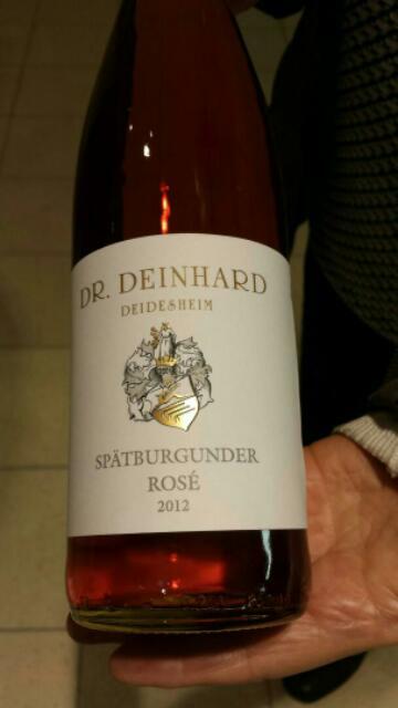 Dr deinhard didesheim sp tburgunder ros 2013 wine info for Deinhard wine