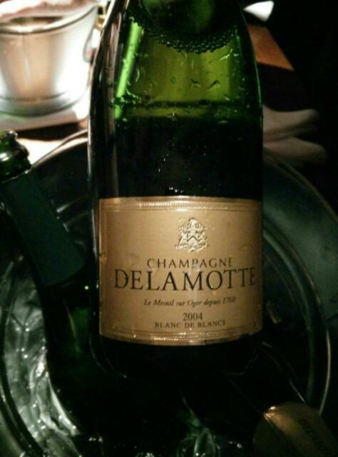 Delamotte champagne blanc de blancs brut mill sim 2004 wine info for Salon blanc de blancs le mesnil sur oger