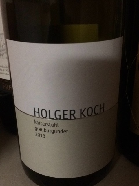 Holger koch grauburgunder 2013 wine info for Koch 3 winde