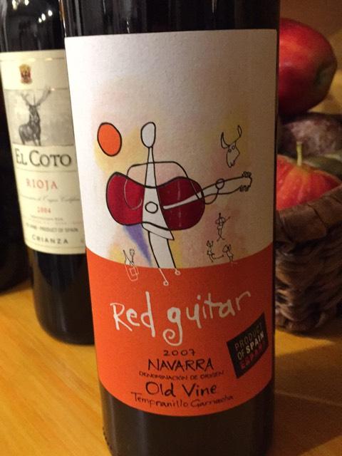 red guitar old vine ros wine info. Black Bedroom Furniture Sets. Home Design Ideas