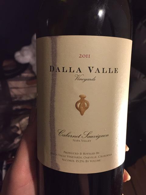 Dalla Valle Cabernet Sauvignon Wine Info