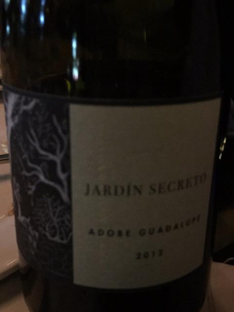 Adobe guadalupe jard n secreto 2005 wine info for Jardin secret wine