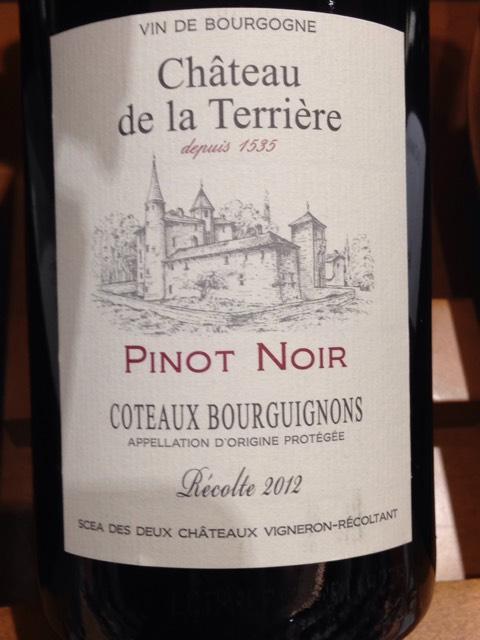 Ch teau de la terriere cuve brouilly vieilles vigne 2012 for Brouilly chateau de la chaise