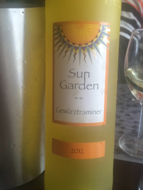 Sun garden gewruztraminer 2012 wine info Sun garden riesling