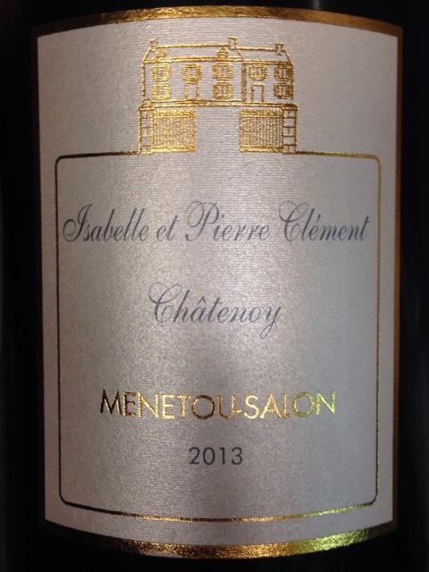 Isabelle et pierre clement menetou salon ch tenoy 2013 for Menetou salon clement