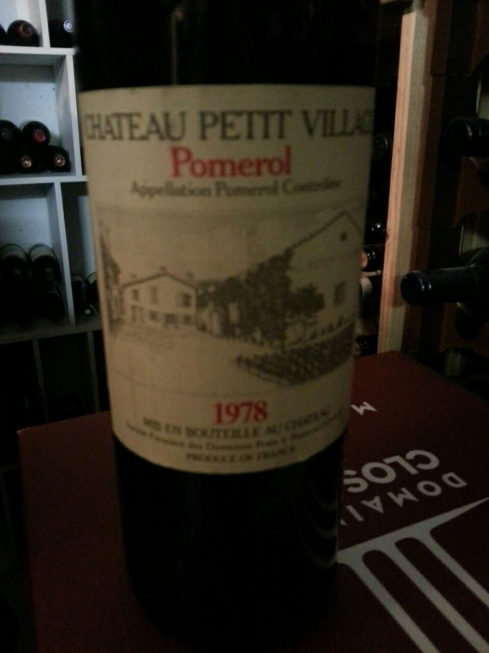 ch teau petit village pomerol 1978 wine info. Black Bedroom Furniture Sets. Home Design Ideas