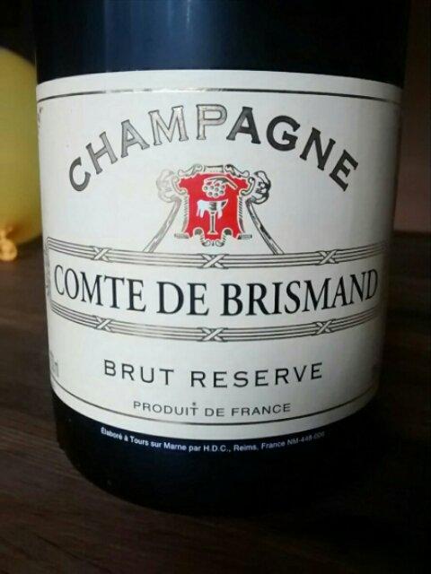 comte de brismand champagner
