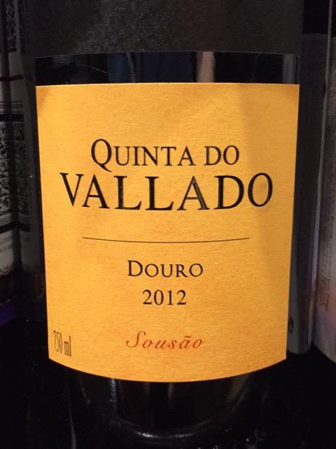 Quinta do vallado sous o douro 2012 wine info - Quinta do vallado ...