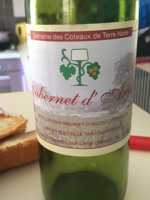 L 39 acheteur le jardin des baronneries rose d 39 anjou 2012 for Le jardin high wine