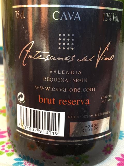 Artesanos brut reserva cava valencia del vino 2008 wine info - Artesanos valencia ...