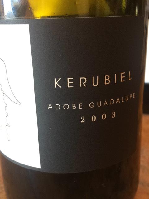 Adobe guadalupe kerubiel 2003 wine info for Jardin secreto wine