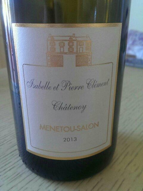 Pierre clement menetou salon 2013 wine info for Menetou salon clement