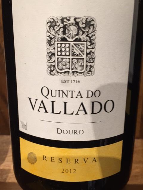 Quinta do vallado douro reserva tinto 2012 wine info - Quinta do vallado ...