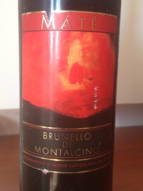 , Brunello di Montalcino, Mate, 2004 - Decanter