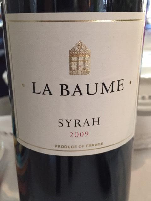 Domaine de la baume syrah la jeunesse 2009 wine info - Domaine de la baume ...