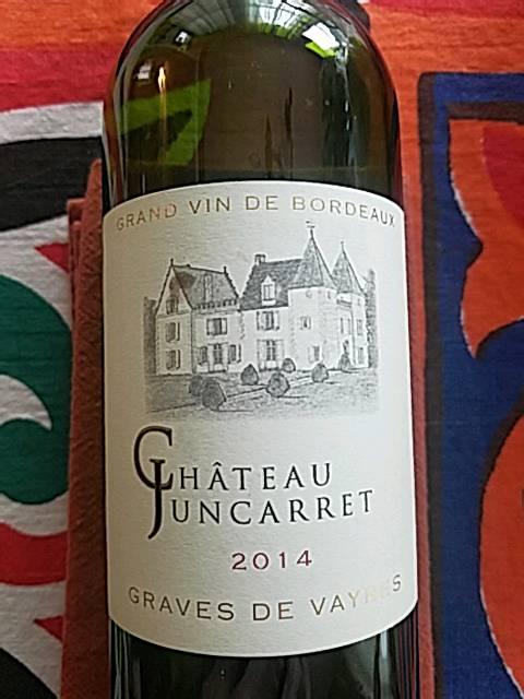 2014 Château Juncarret Graves de Vayres Rouge   Vivino