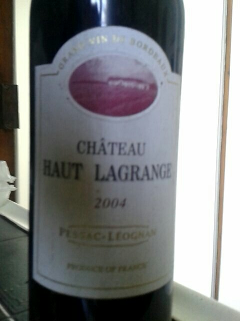 ch teau haut lagrange pessac l ognan 2004 wine info. Black Bedroom Furniture Sets. Home Design Ideas
