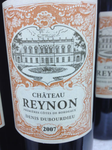 Ch teau reynon bordeaux sec 1989 wine info for Chateau reynon
