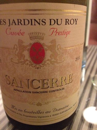 Georges roblin fils sancerre les jardins du roy cuv e for Jardin du nil red wine