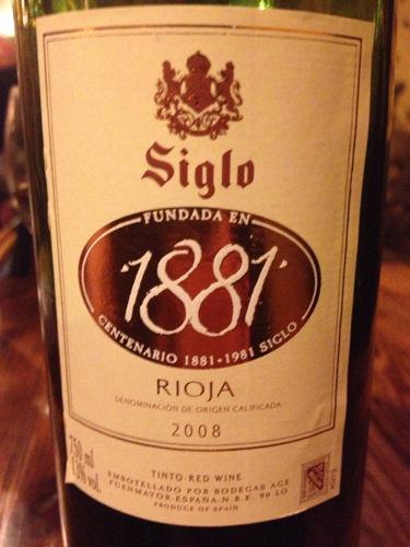 Bodegas Age Siglo Saco Crianza, Rioja DOCa - Wine-Searcher