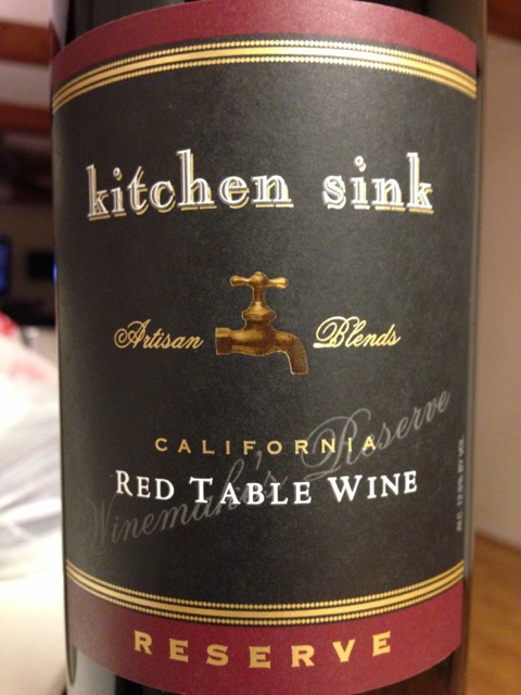 the kitchen sink wine kitchen sink artisan blends california 2010 wine info 6081