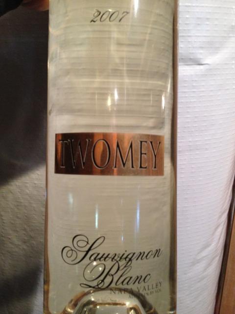 Twomey Sauvignon Blanc 2007 Wine Info