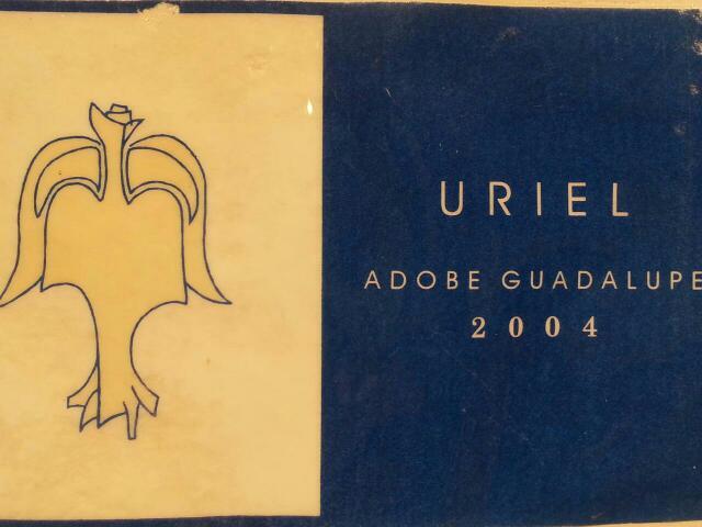 Adobe guadalupe uriel 2004 wine info for Jardin secreto wine