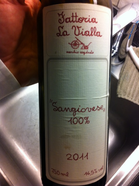 la vialla sangiovese 2010 wine info. Black Bedroom Furniture Sets. Home Design Ideas