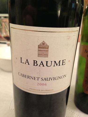 Domaine de la baume cabernet sauvignon les thermes wine info - Domaine de la baume ...