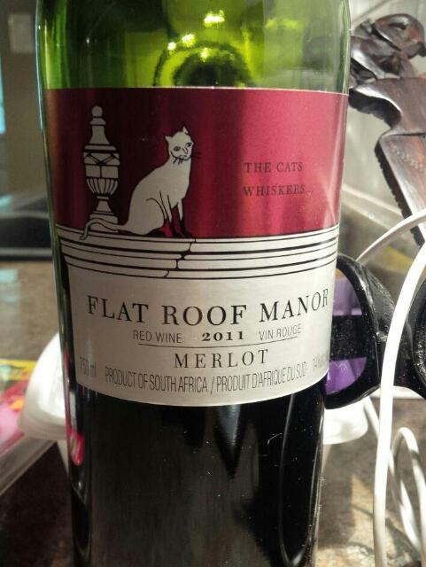 Flat Roof Manor Merlot Wine Info
