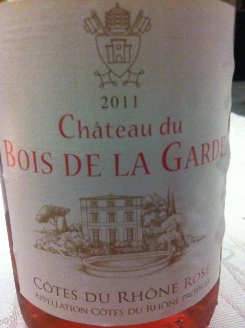 Mousset Barrot Ch u00e2teau du Bois de la Garde Rosé 2011 Wine Info # Chateau Du Bois De La Garde