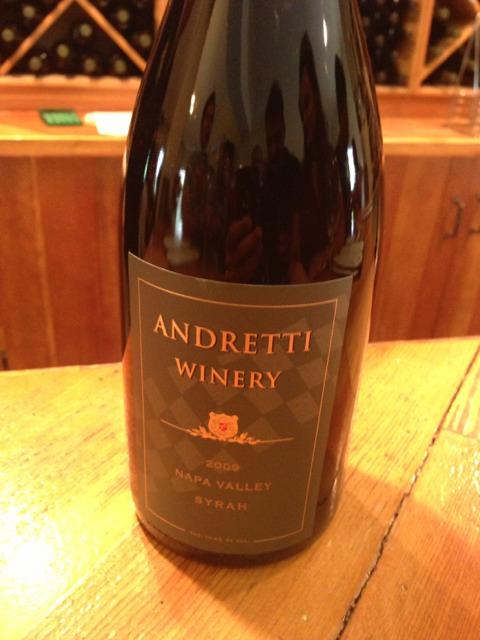 Where To Buy Andretti Wine Andretti Napa Valley Syrah 2009