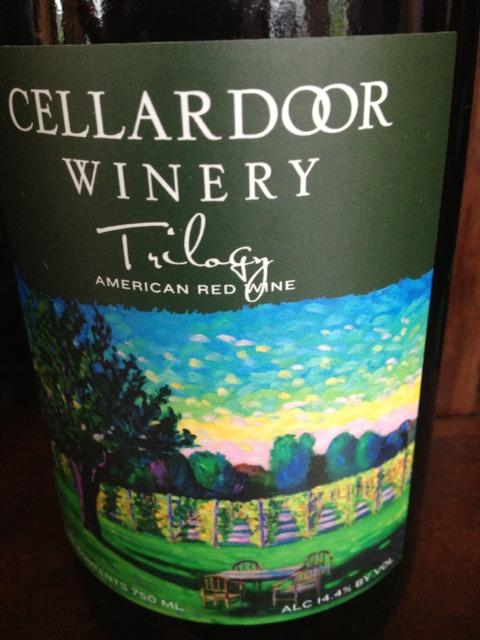 Trilogy Wine Cellar : Cellardoor trilogy red wine info
