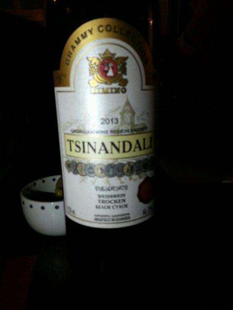 Grammy Collection Tsinandali Vino Blanco Seco | Wine Info