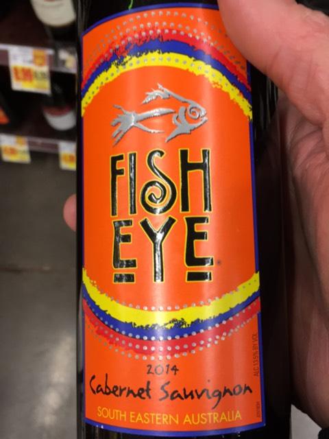 Fish eye cabernet sauvignon 2014 wine info for Fish eye moscato