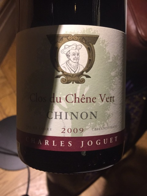 charles joguet clos du ch ne vert chinon 2009 wine info. Black Bedroom Furniture Sets. Home Design Ideas