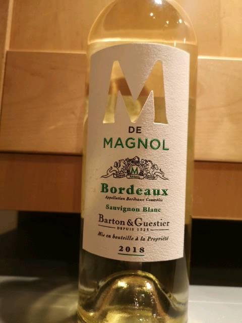 Château Magnol M de Magnol Bordeaux Blanc | Wine Info