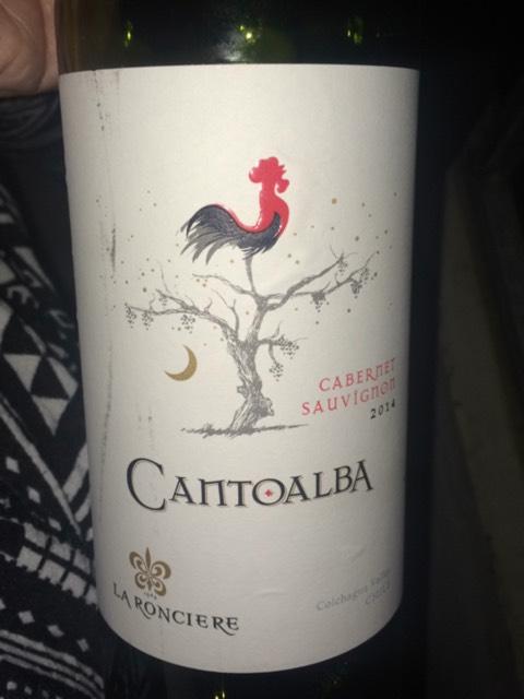 Kết quả hình ảnh cho cantoalba cabernet sauvignon la ronciere
