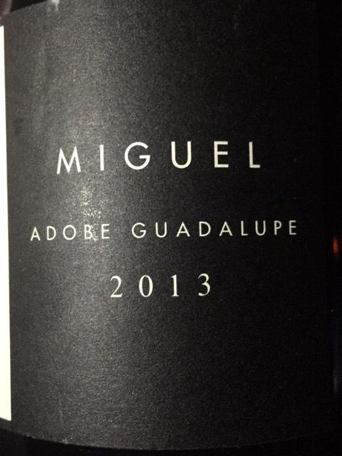 Adobe guadalupe miguel 2013 wine info for Jardin secreto wine