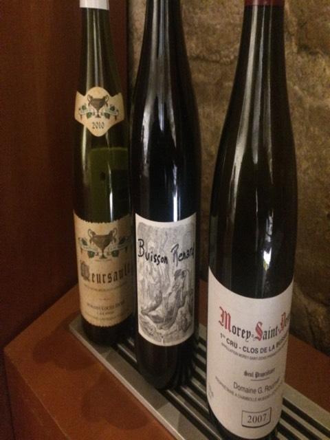 Didier dagueneau buisson renard 2011 wine info for Jardin de babylone wine