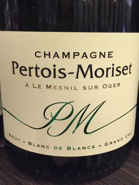 Pertois moriset champagne le mesnil sur oger grand cru blanc de blancs 2015 wine info for Salon blanc de blancs le mesnil sur oger