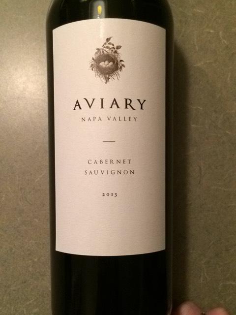 Aviary Napa Valley Cabernet Sauvignon 2010 : Wine Info