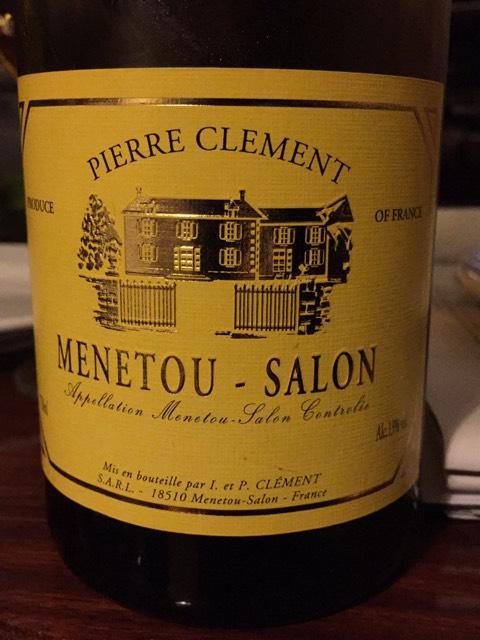 Pierre clement menetou salon 2006 wine info for Menetou salon clement