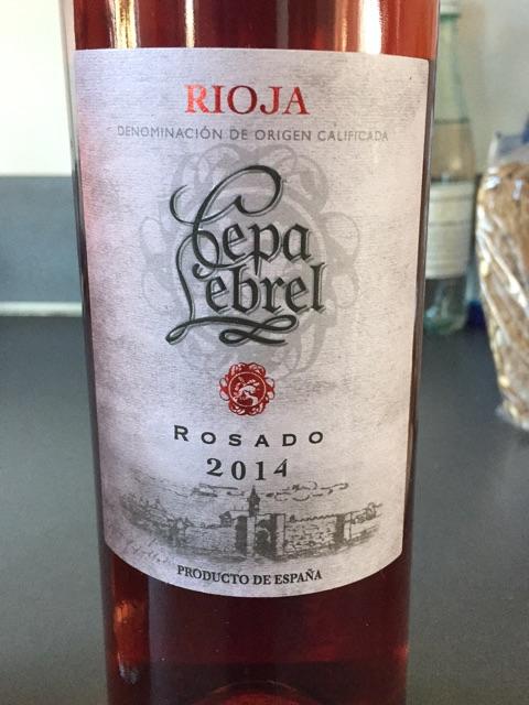 2014 Cepa Lebrel Rioja Rosado Vivino
