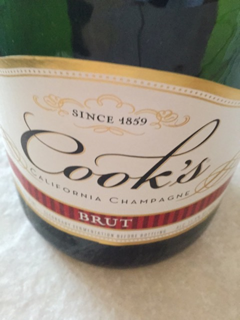 cooks california champagne brut nv wine info